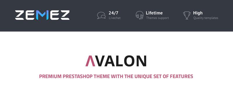 Avalon - Wholesale Store PrestaShop Theme - Features Image 1