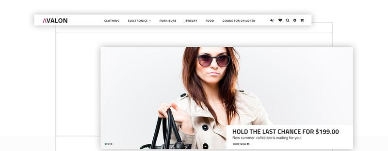 Avalon - Wholesale Store PrestaShop Theme - Features Image 3