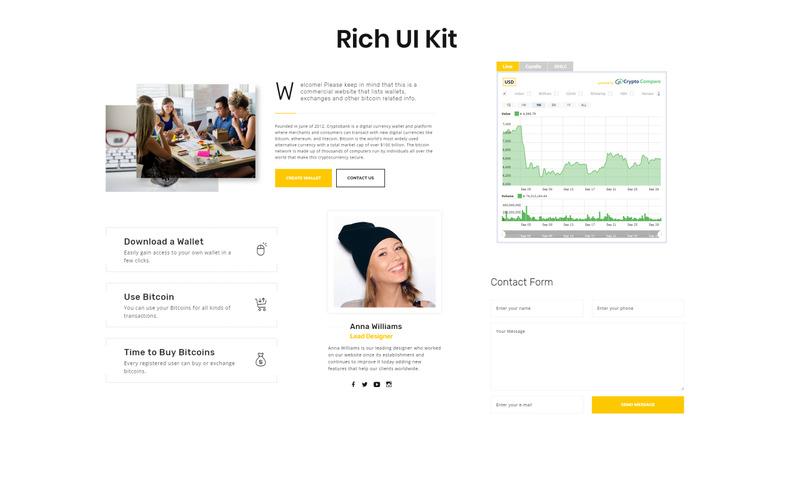 modello di sito web scambio bitcoin plataforma trade bitcoin