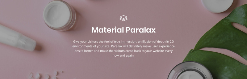 Relish Ruelle - Beauty Multipage Clean HTML Website Template - Features Image 6