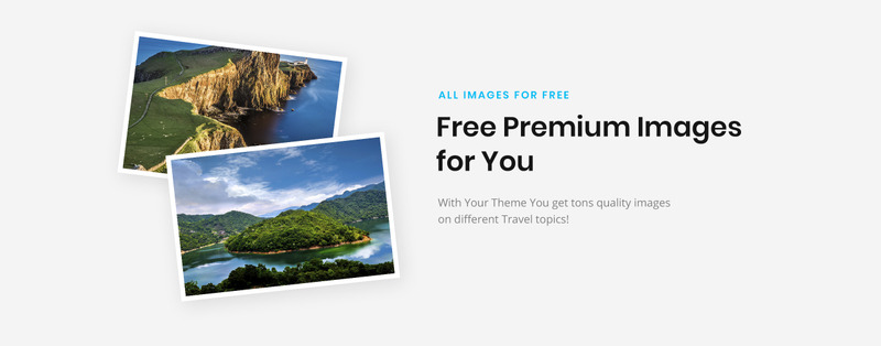 Backpack Story - Online Travel Agency Website Template - Features Image 4