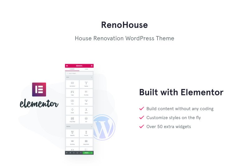 RenoHouse - Modern Construction Project Website WordPress Theme - Features Image 1