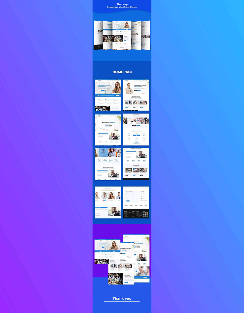 Themexp - Responsive WordPress Theme - Features Image 1