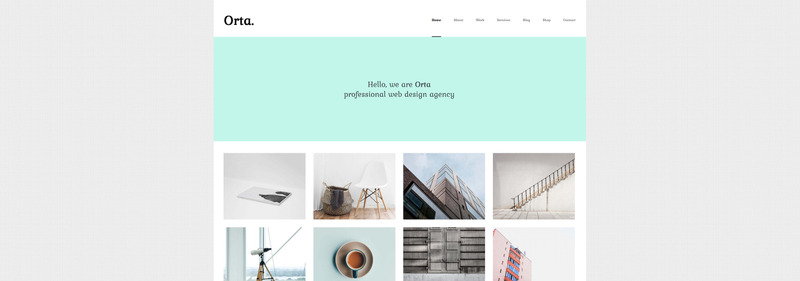 Orta - Photography & Personal Blog WordPress Theme - Features Image 1