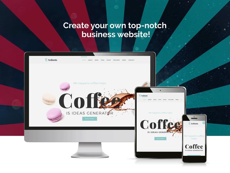 10 plantillas Wordpress para cafeterías y restaurantes 8