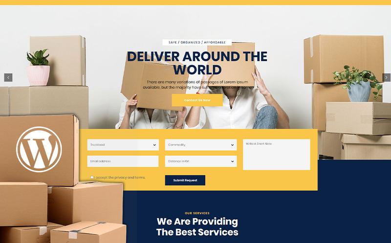 Nescobee - Movers WordPress Theme - Features Image 1