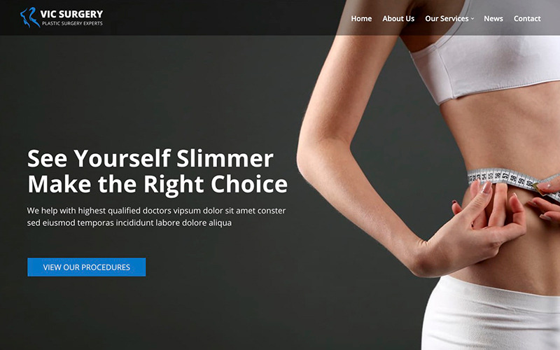 Vic - Plastic Surgery Booking WordPress Theme - Features Image 1