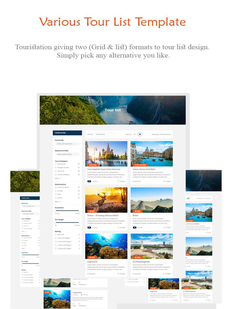 Touristation - Tours & Travel Booking WordPress Theme - Features Image 3
