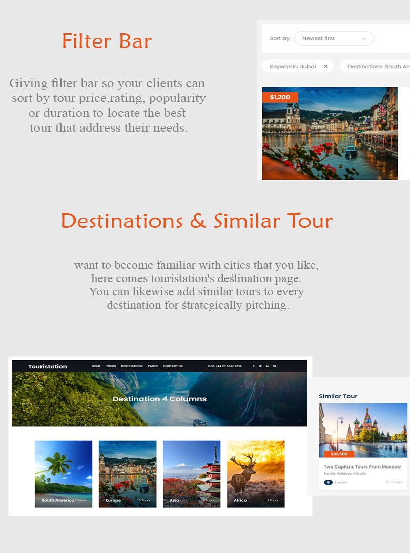 Touristation - Tours & Travel Booking WordPress Theme - Features Image 4