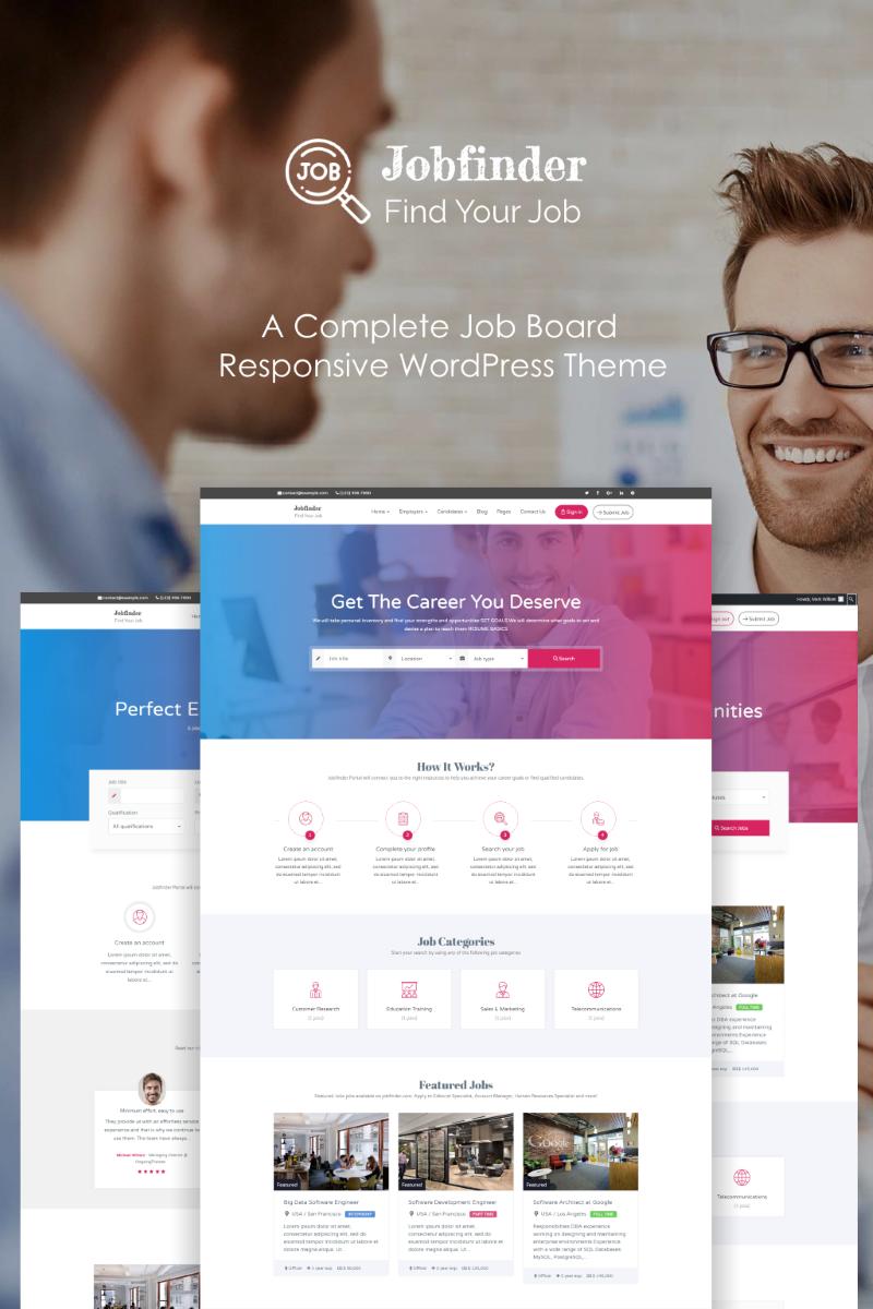 Jobfinder - Job Board Creative WordPress Theme