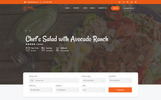 """Chef's Recipe - Food & Recipe"" thème WordPress adaptatif"