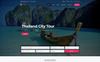"WordPress шаблон ""TravelTime - Complete Tour & Travel Agency"" Большой скриншот"