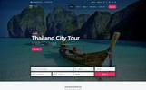 "WordPress шаблон ""TravelTime - Complete Tour & Travel Agency"""