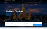 "WordPress шаблон ""Traveller - Tour & Travel"""