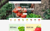 Qmarto - Organic Store HTML5 Website Template Big Screenshot