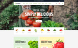 Plantilla Web para Sitio de Tienda de Alimentos