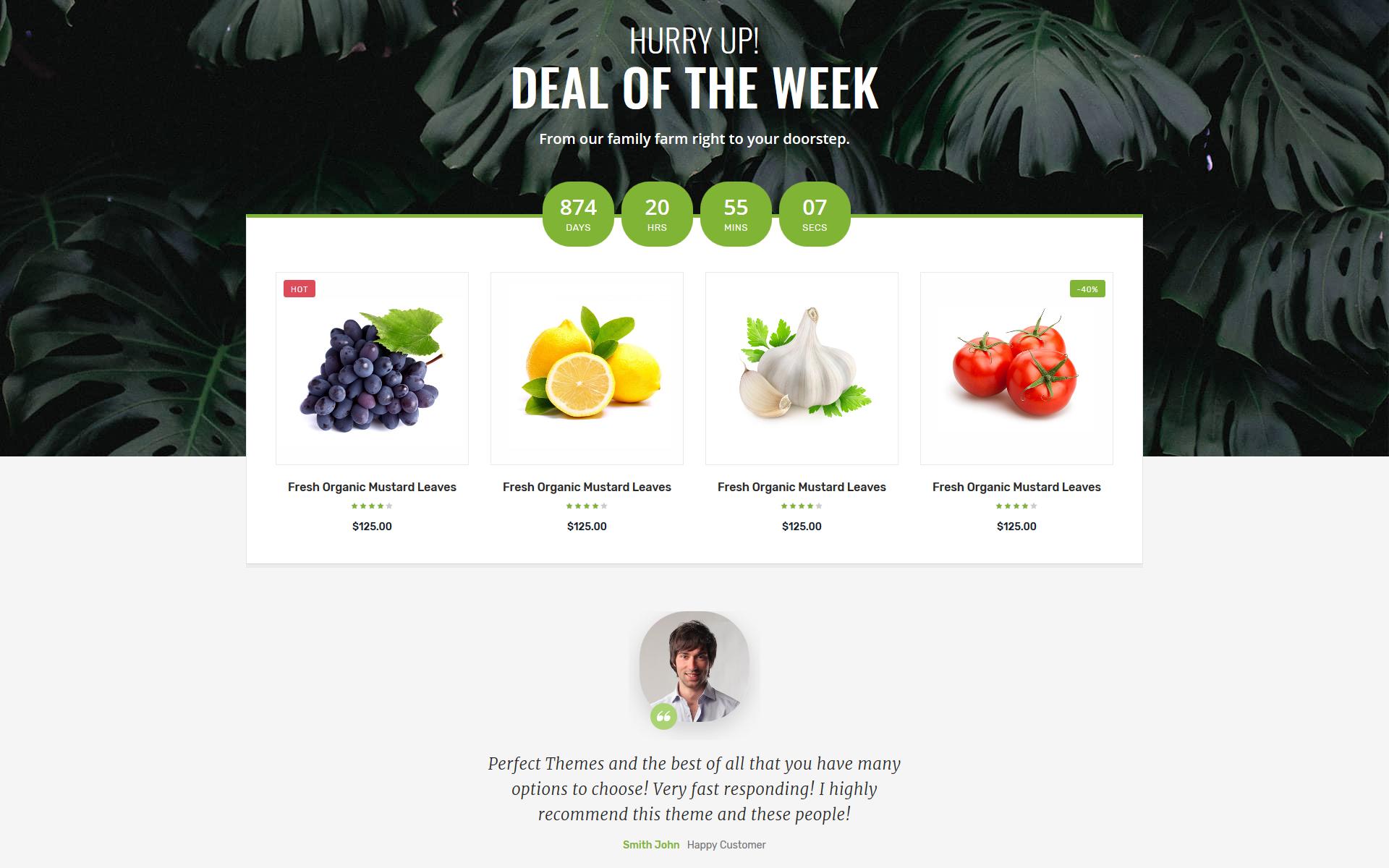 Plantilla para sitios web - Categoría: Cafés y restaurantes - versión para Desktop