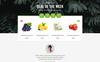 Plantilla Web para Sitio de Tienda de Alimentos Captura de Pantalla Grande