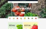 Qmarto - Organic Store HTML5 Website Template
