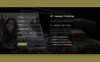 Gun Shop HTML Template Website Template Big Screenshot