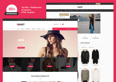 The Mart Multipurpose e-commerce