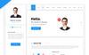 Hello Resume - CV, vCard & Portfolio HTML Template Website Template Big Screenshot