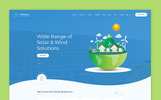 Sun and Wind Energy HTML Template Website Template