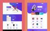 """Landing Page Template namens """"Lander Product Offer"""" Großer Screenshot"""