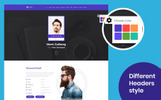 Its Me Resume, CV, vCard & Portfolio Landing Page Template