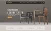 """""""Craft Furniture Interior"""" thème PrestaShop adaptatif Grande capture d'écran"""