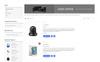 Enova Electronics Mobile Magento Theme Big Screenshot